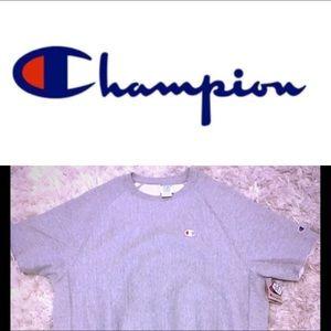 🆕 CHAMPION SHORT SLEEVE SWEATSHIRT 🆕